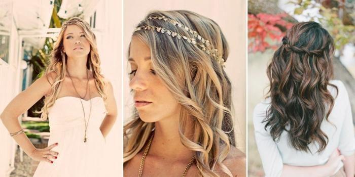 poročne pričeske ohlapne fotografije las