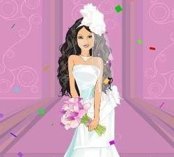 obleke za dekleta, poroka