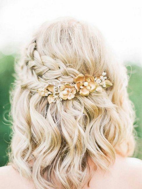 Poročne pričeske z pletenicami: možnosti fotografij za lase različnih dolžin