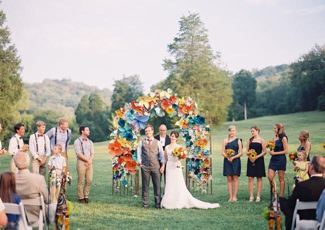 poročna fotografija dekor