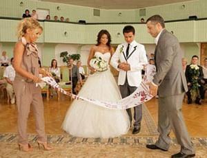priča na poroki, ki bi morala storiti