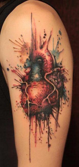 tattoo srčna vrednost
