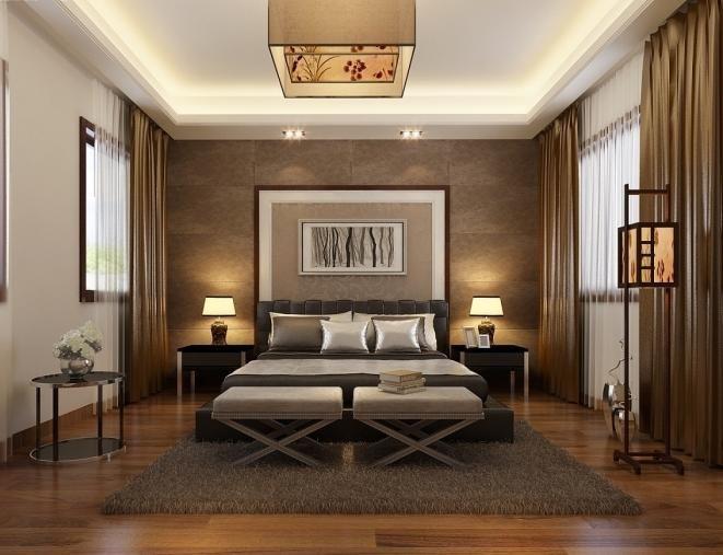 Popolni sklopi zaves in posteljna pregrinjala za spalnico