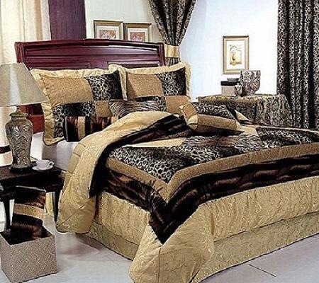 Nastavite za posteljnino za zavese v spalnici