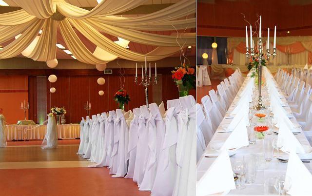 dekoracija dvorane za poročno fotografijo