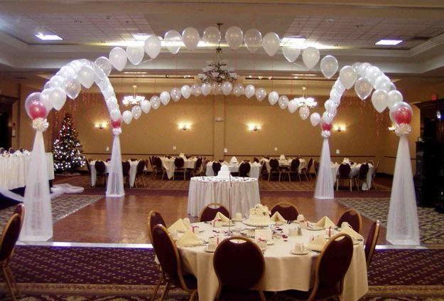 dekoracija dvorane po poročni ceni