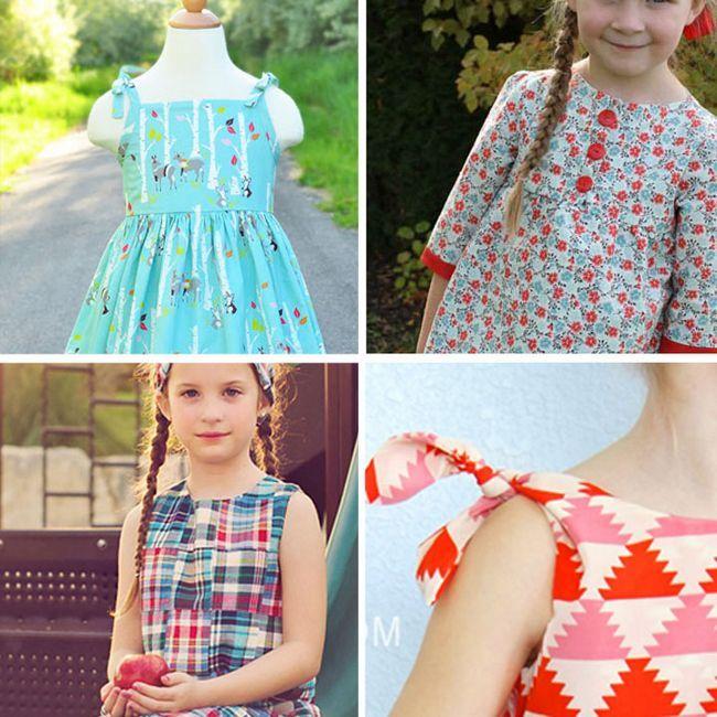 Univerzalni vzorec otroške obleke: konstrukcija, priporočila