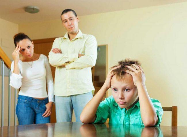 Težave v družini