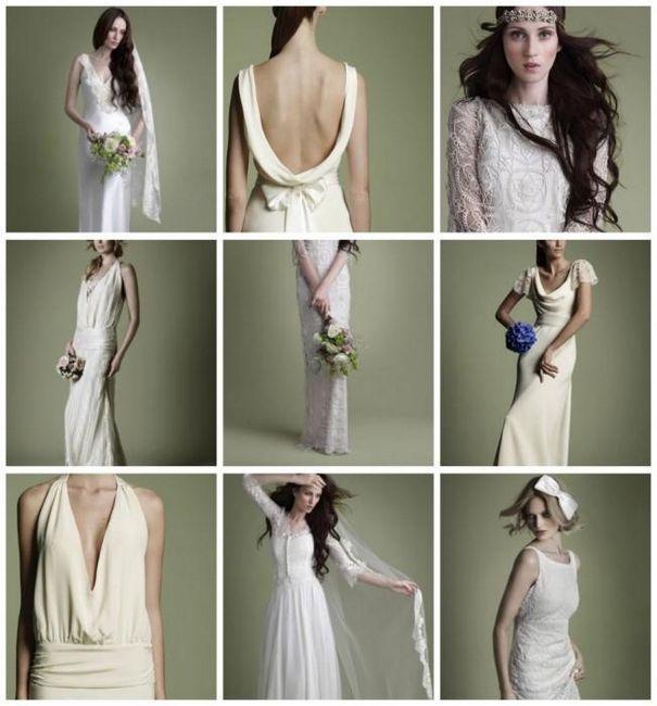 dolge obleke v retro slogu