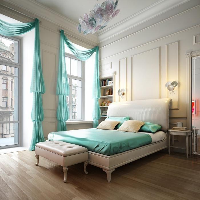 dizajnerske zavese in posteljna pregrinjala