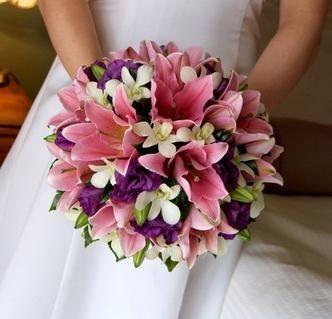 Izberite poroko šopke lilije