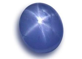 Star Sapphire - lepo lep kamen